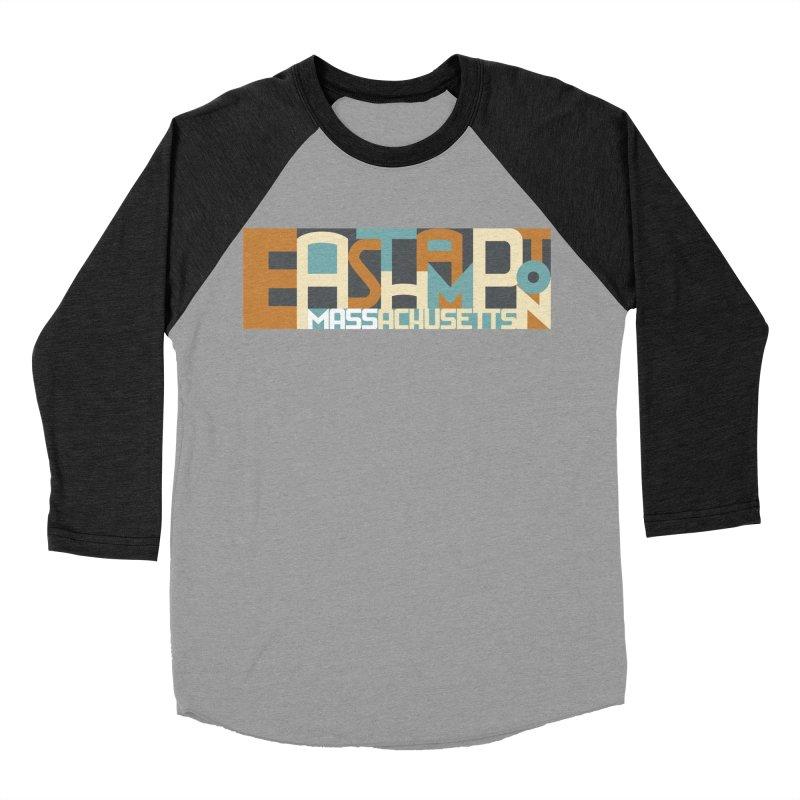 Easthampton, Massachusetts Men's Baseball Triblend T-Shirt by Tom Pappalardo / Standard Design