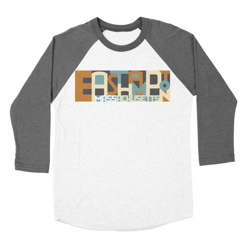 Easthampton, Massachusetts Men's Baseball Triblend Longsleeve T-Shirt by Tom Pappalardo / Standard Design