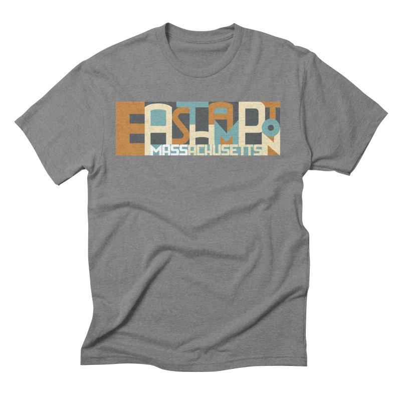 Easthampton, Massachusetts Men's Triblend T-shirt by Tom Pappalardo / Standard Design