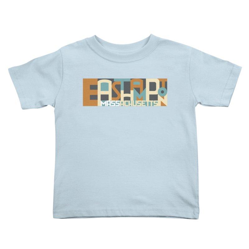 Easthampton, Massachusetts Kids Toddler T-Shirt by Tom Pappalardo / Standard Design