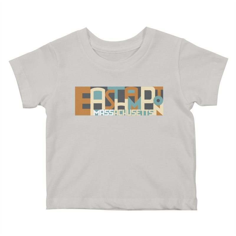 Easthampton, Massachusetts Kids Baby T-Shirt by Tom Pappalardo / Standard Design
