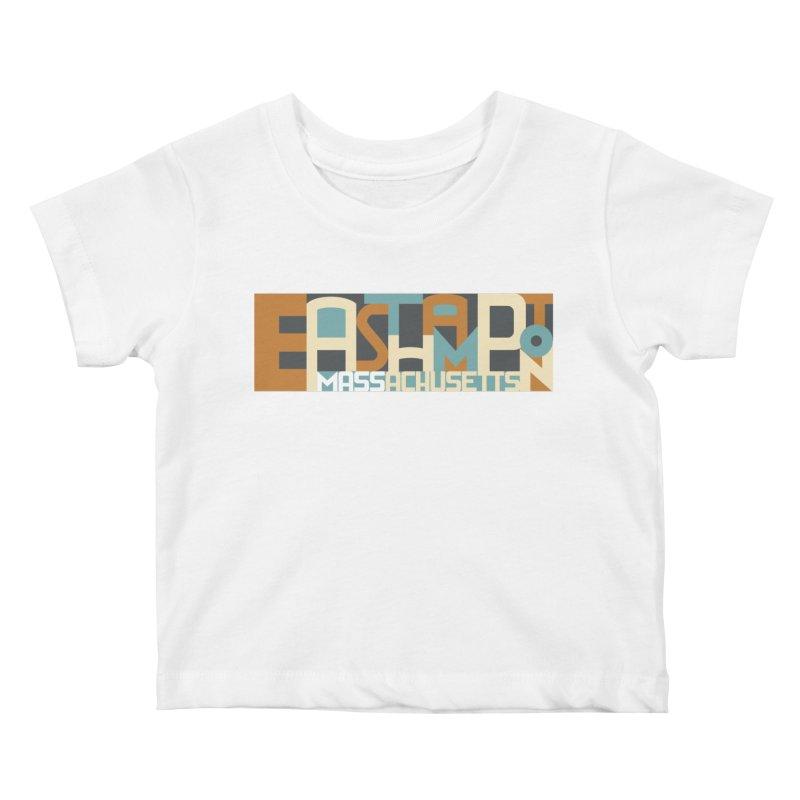 Easthampton, Massachusetts Kids Baby T-Shirt by Tom Pappalardo / Standard Design