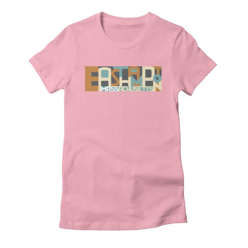 Easthampton, Massachusetts Women's T-Shirt by Object/Tom Pappalardo