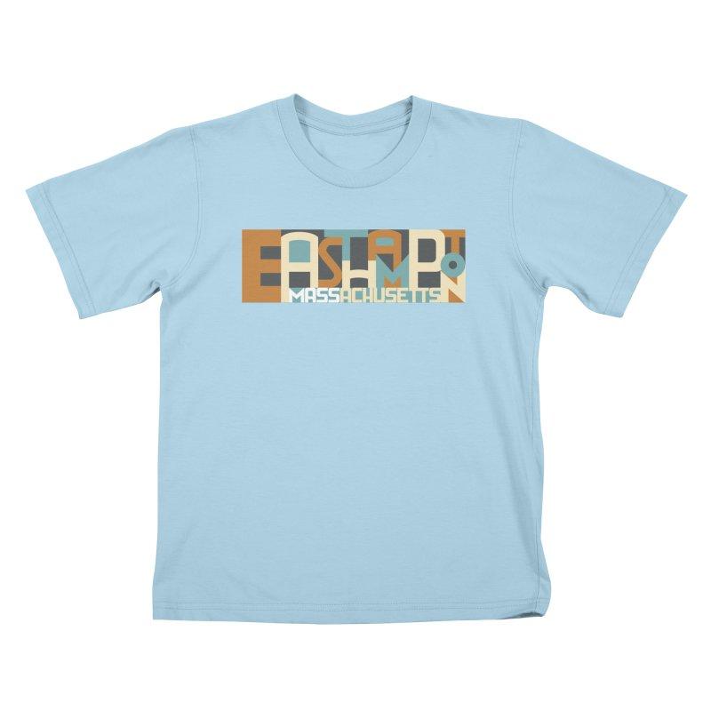 Easthampton, Massachusetts Kids T-Shirt by Tom Pappalardo / Standard Design