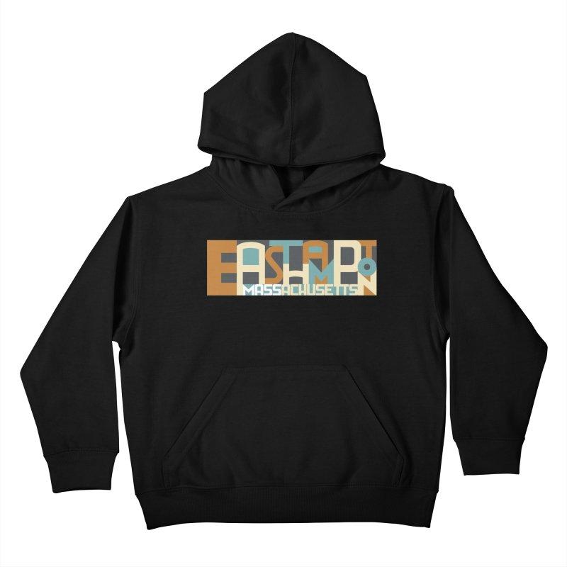 Easthampton, Massachusetts Kids Pullover Hoody by Tom Pappalardo / Standard Design
