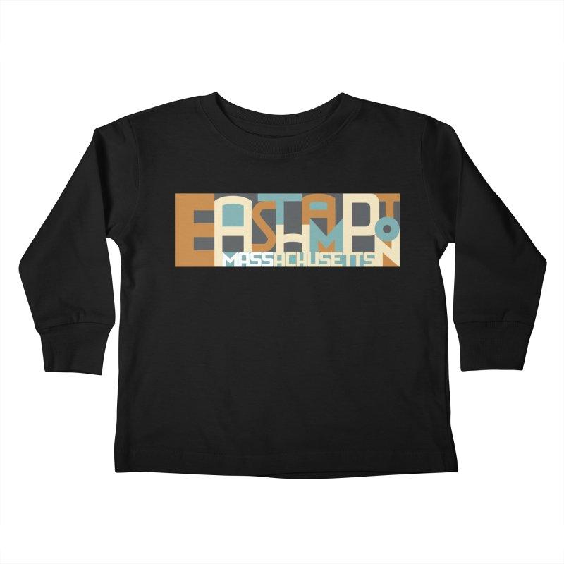 Easthampton, Massachusetts Kids Toddler Longsleeve T-Shirt by Tom Pappalardo / Standard Design