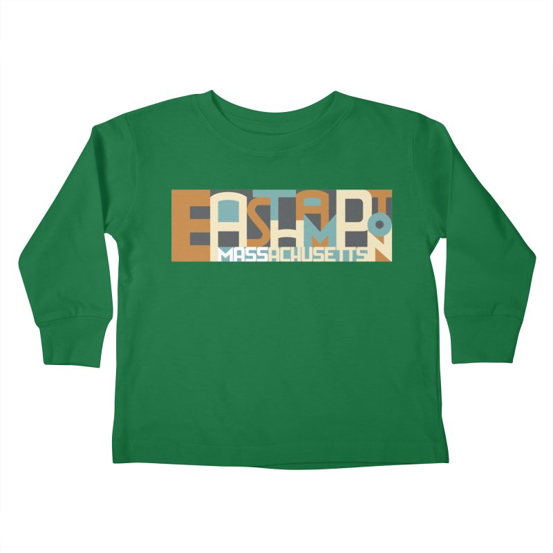 Easthampton, Massachusetts Kids Toddler Longsleeve T-Shirt by Tom Pappalardo / Standard Design