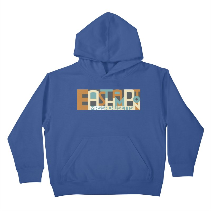 Easthampton, Massachusetts Kids Pullover Hoody by Tom Pappalardo / Standard Design