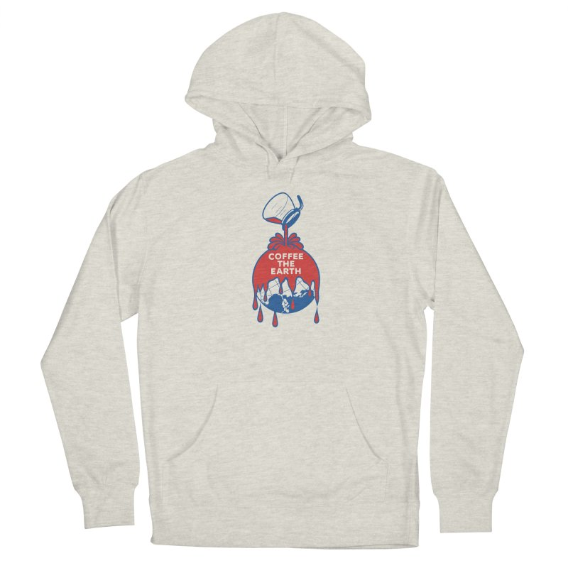 Coffee The Earth (Sherwin-Williams logo parody) Men's Pullover Hoody by Object/Tom Pappalardo