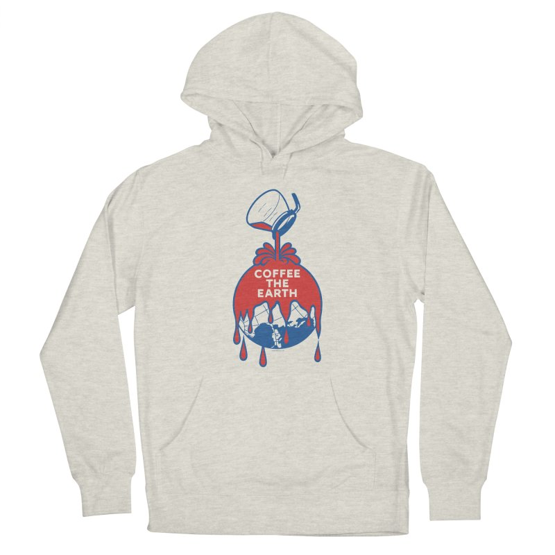 Coffee The Earth (Sherwin-Williams logo parody) Men's Pullover Hoody by Tom Pappalardo / Standard Design
