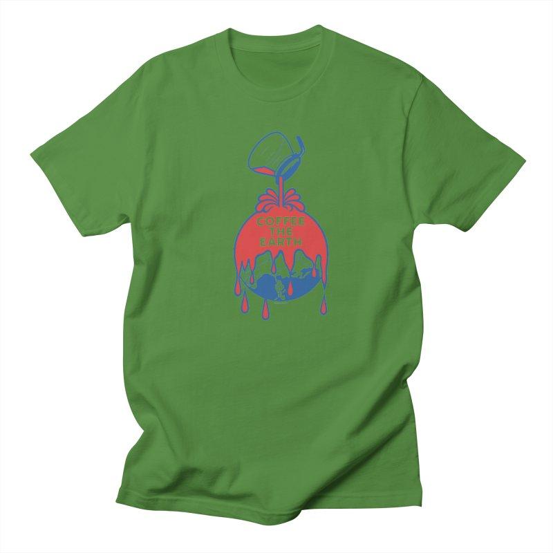 Coffee The Earth (Sherwin-Williams logo parody) Women's Regular Unisex T-Shirt by Tom Pappalardo / Standard Design