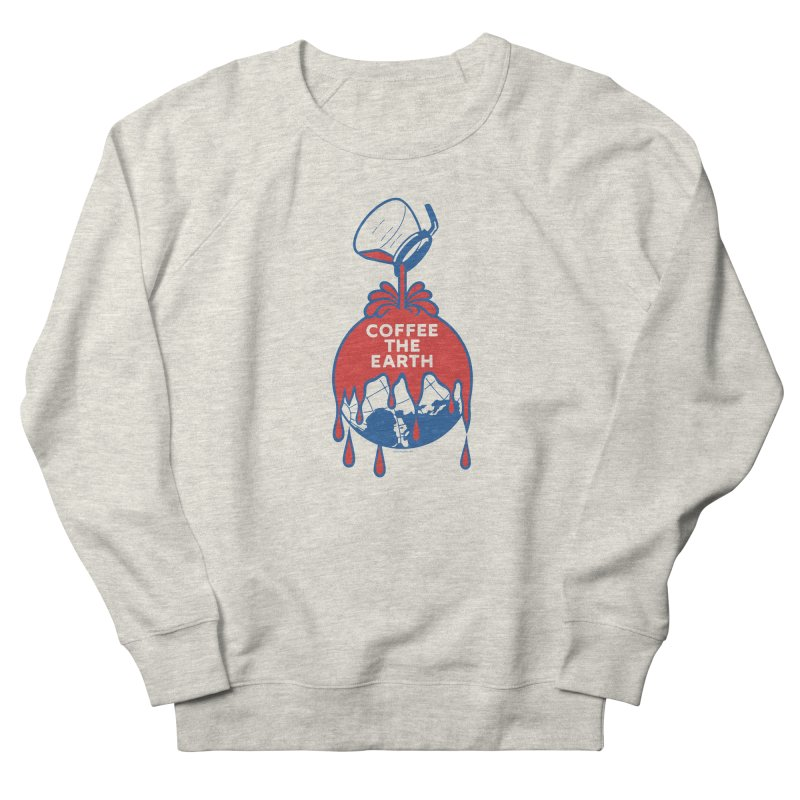 Coffee The Earth (Sherwin-Williams logo parody) Men's Sweatshirt by Tom Pappalardo / Standard Design