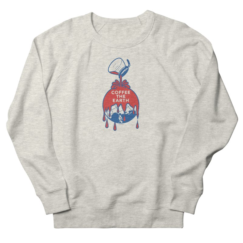 Coffee The Earth (Sherwin-Williams logo parody) Men's Sweatshirt by Object/Tom Pappalardo