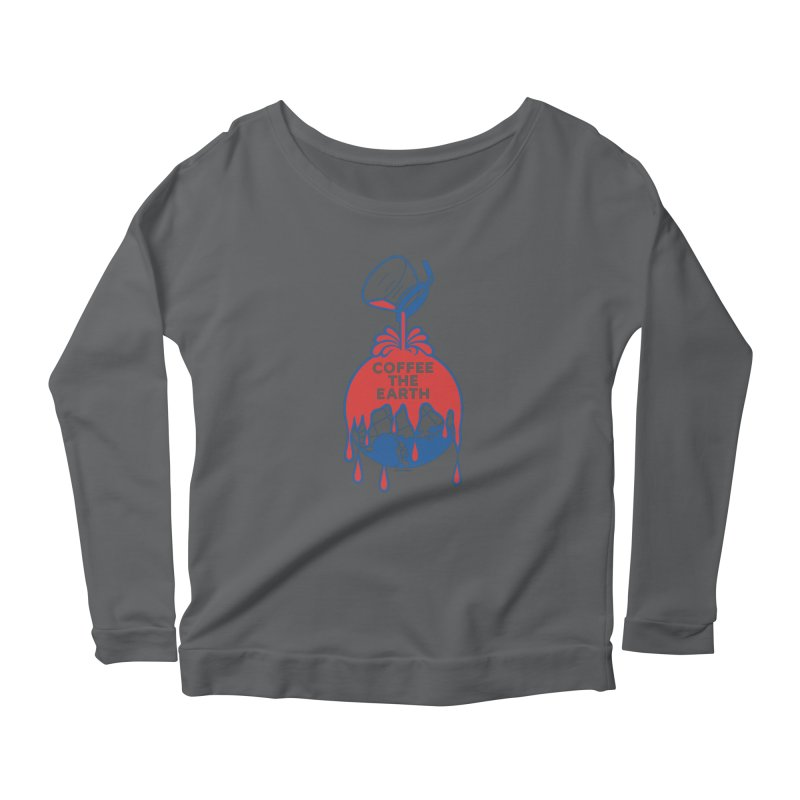 Coffee The Earth (Sherwin-Williams logo parody) Women's Longsleeve T-Shirt by Object/Tom Pappalardo