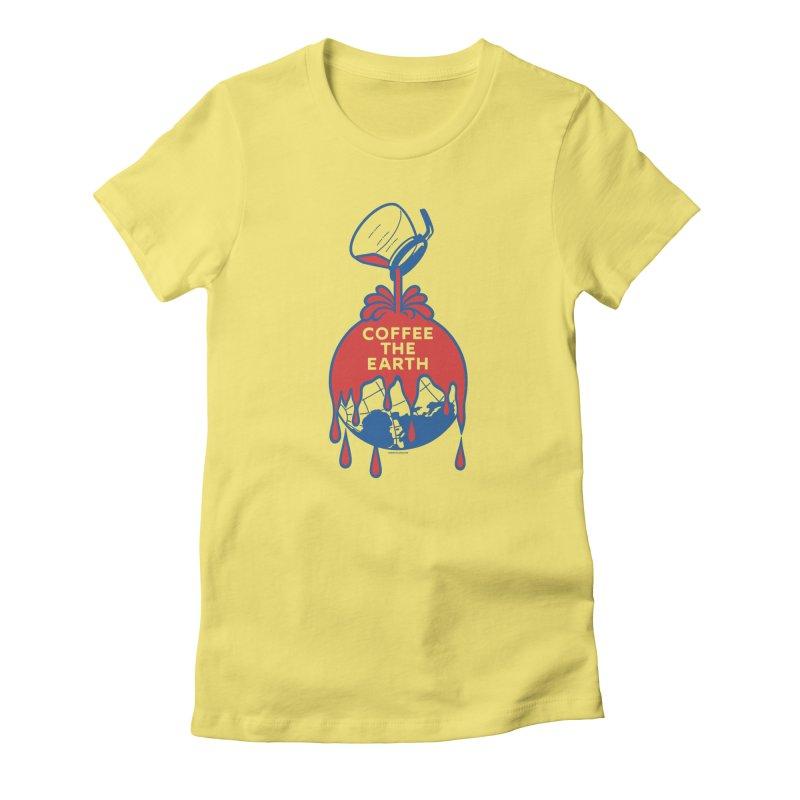 Coffee The Earth (Sherwin-Williams logo parody) Women's T-Shirt by Object/Tom Pappalardo