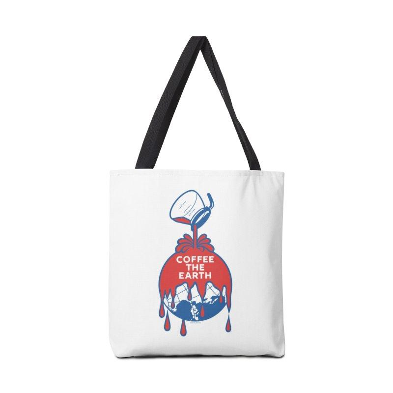 Coffee The Earth (Sherwin-Williams logo parody) Mugs, Buttons, & More Bag by Object/Tom Pappalardo