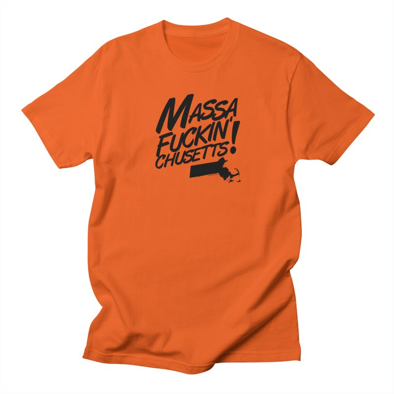 Massa-Fuckin'-Chusetts! Men's T-Shirt by Object/Tom Pappalardo
