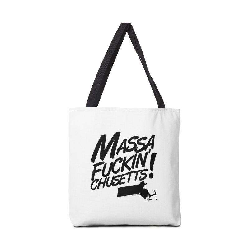 Massa-Fuckin'-Chusetts! Mugs, Buttons, & More Bag by Object/Tom Pappalardo