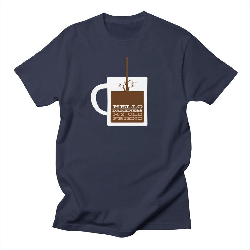 Hello Darkness My Old Friend Men's T-Shirt by Object/Tom Pappalardo