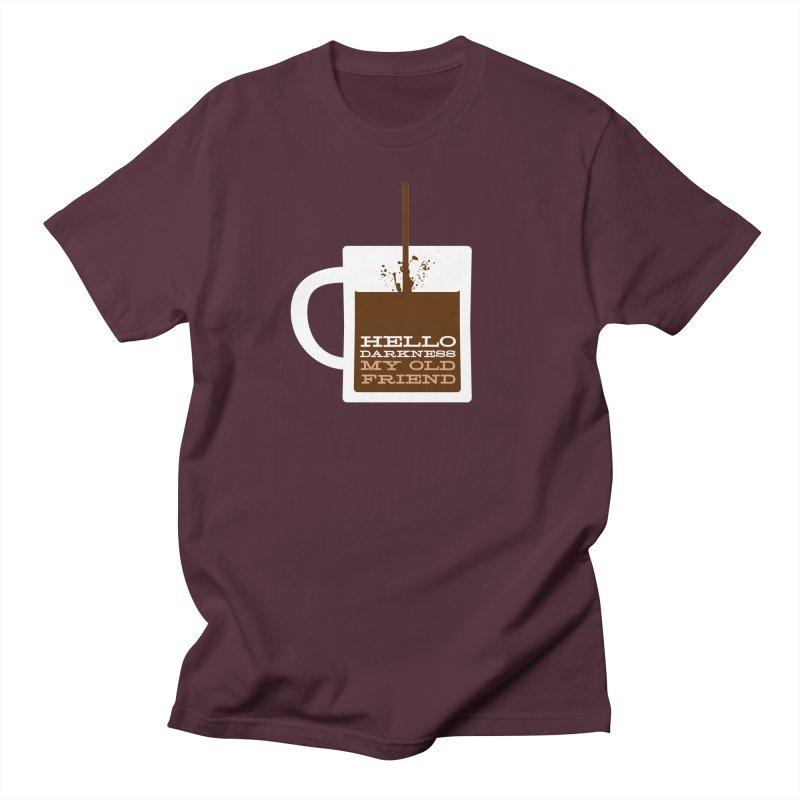 Hello Darkness My Old Friend Women's T-Shirt by Object/Tom Pappalardo