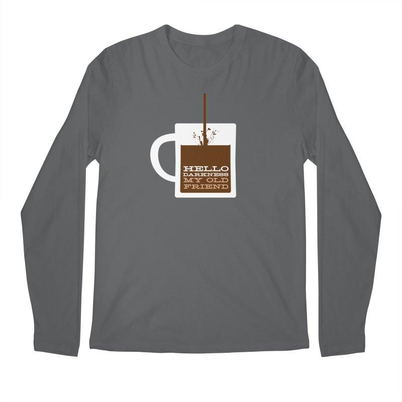Hello Darkness My Old Friend Men's Longsleeve T-Shirt by Tom Pappalardo / Standard Design
