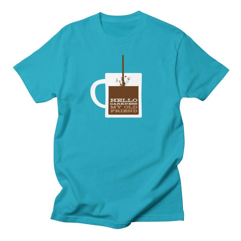Hello Darkness My Old Friend Men's T-shirt by Tom Pappalardo / Standard Design