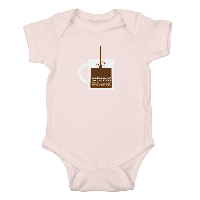Hello Darkness My Old Friend Kids Baby Bodysuit by Tom Pappalardo / Standard Design