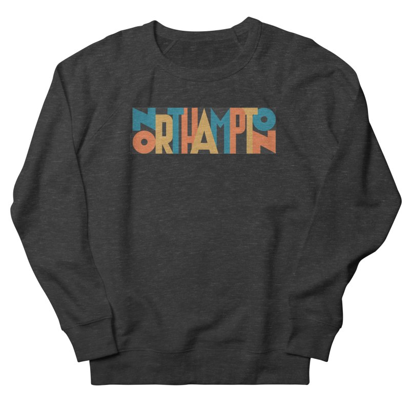 Northampton Women's French Terry Sweatshirt by Tom Pappalardo / Standard Design