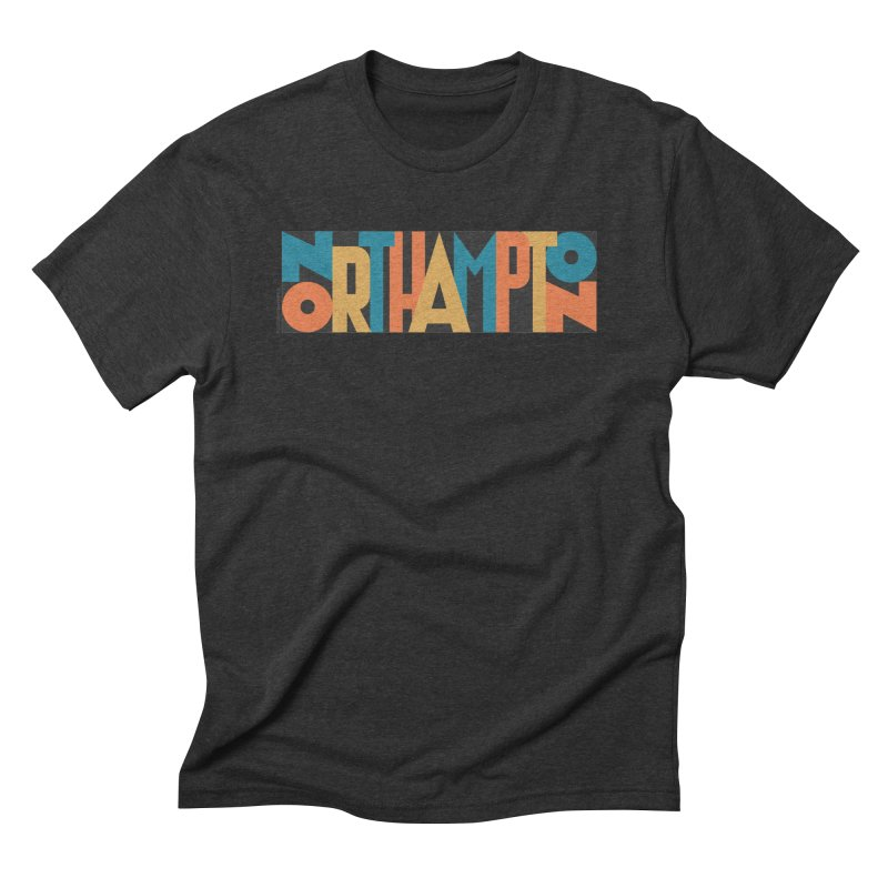Northampton Men's Triblend T-Shirt by Tom Pappalardo / Standard Design