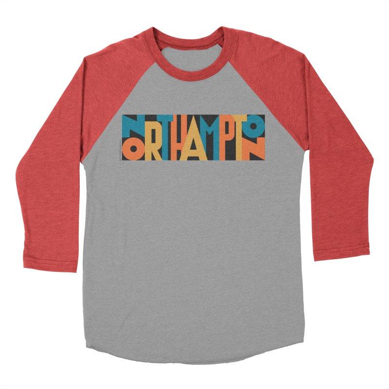 Northampton Women's Baseball Triblend T-Shirt by Tom Pappalardo / Standard Design