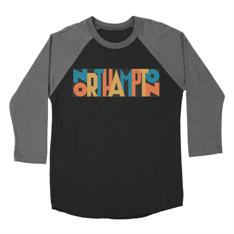 Northampton Women's Baseball Triblend Longsleeve T-Shirt by Tom Pappalardo / Standard Design