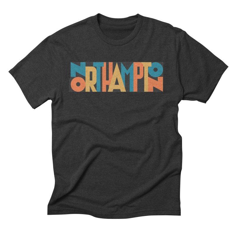 Northampton Men's Triblend T-shirt by Tom Pappalardo / Standard Design