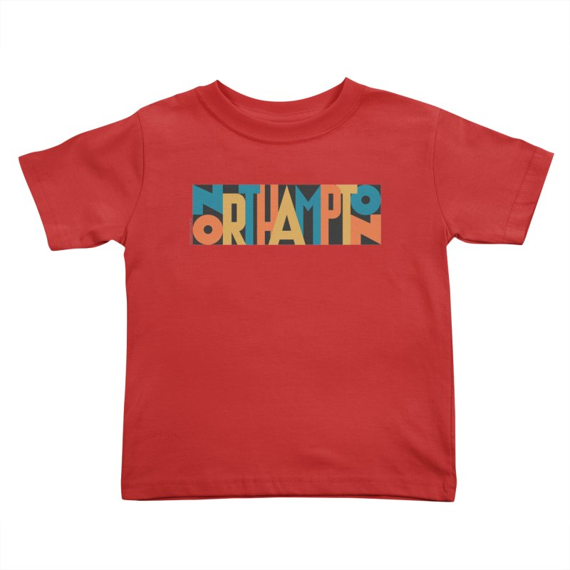 Northampton Kids Toddler T-Shirt by Tom Pappalardo / Standard Design