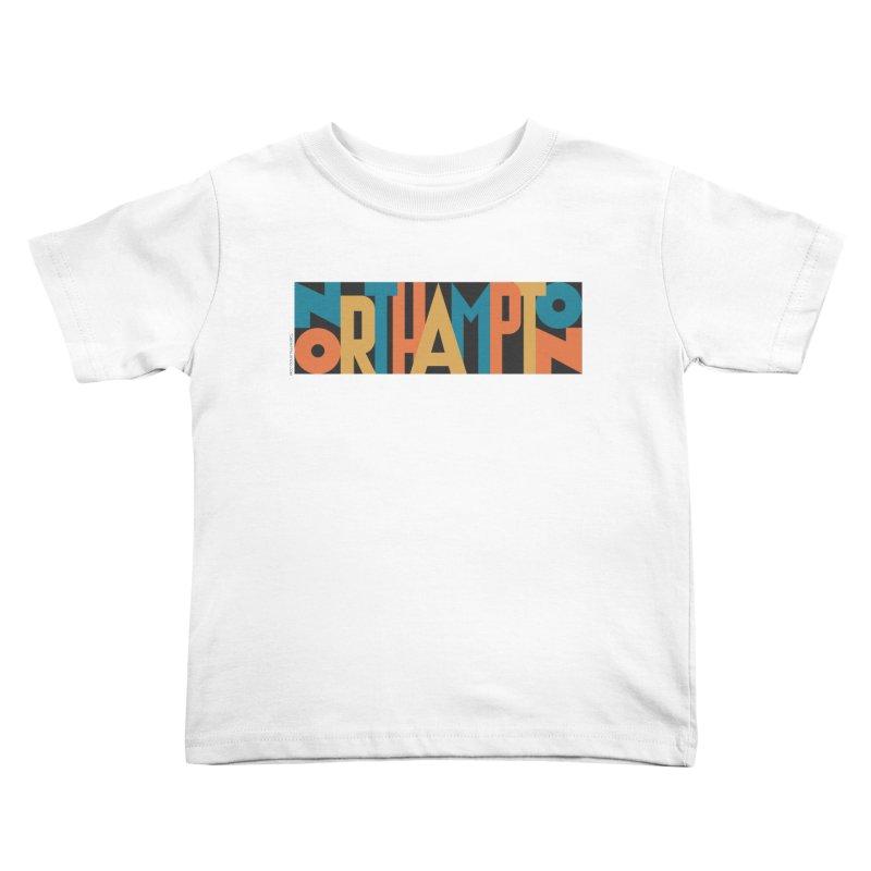 Northampton Kids Toddler T-Shirt by Tom Pappalardo / Standard Design