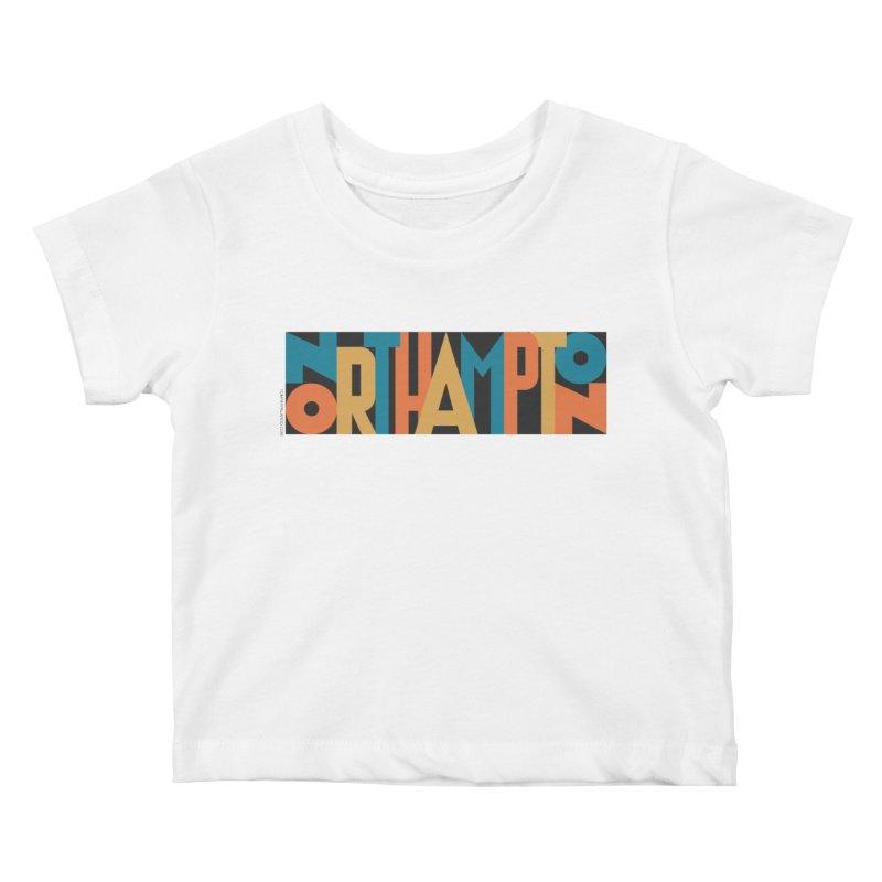 Northampton Kids Baby T-Shirt by Tom Pappalardo / Standard Design