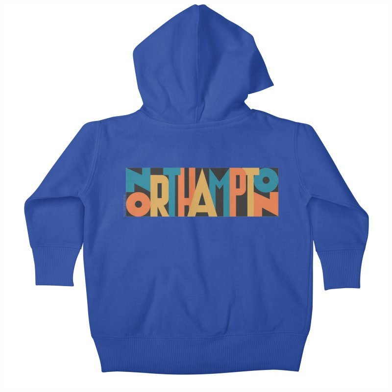 Northampton Kids Baby Zip-Up Hoody by Tom Pappalardo / Standard Design