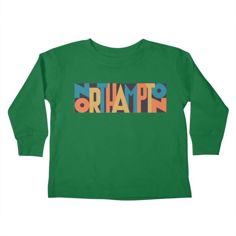 Northampton Kids Toddler Longsleeve T-Shirt by Tom Pappalardo / Standard Design