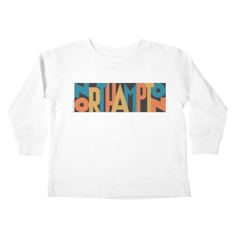 Northampton Kids Toddler Longsleeve T-Shirt by Tom Pappalardo / Standard Design