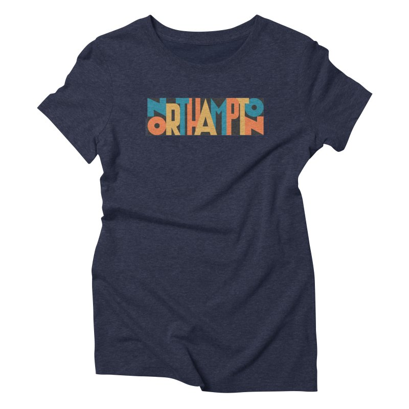 Northampton Women's Triblend T-Shirt by Tom Pappalardo / Standard Design