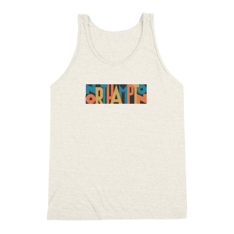 Northampton Men's Triblend Tank by Tom Pappalardo / Standard Design