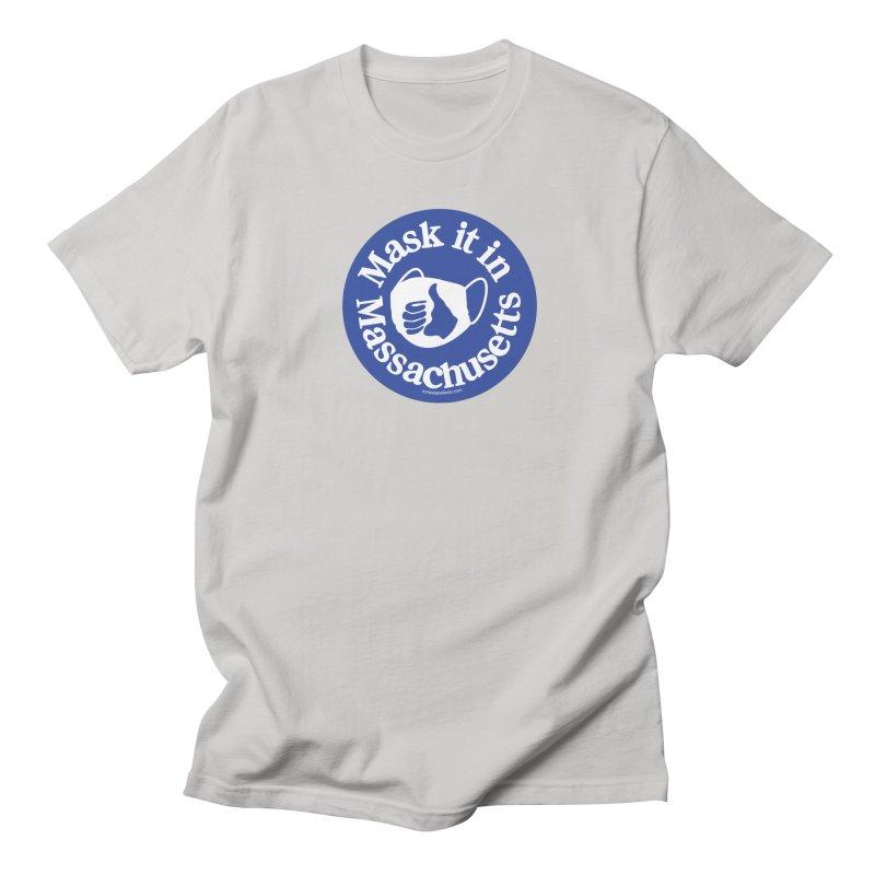 Mask It In Massachusetts Men's T-Shirt by Object