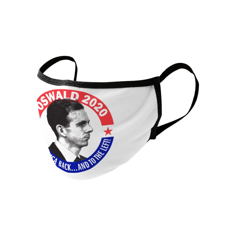 Oswald 2020 Mugs, Buttons, & More Face Mask by Object/Tom Pappalardo