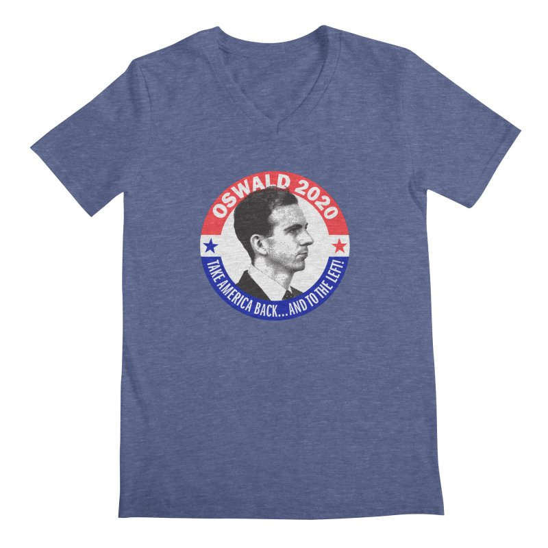 Oswald 2020 Men's V-Neck by Object/Tom Pappalardo