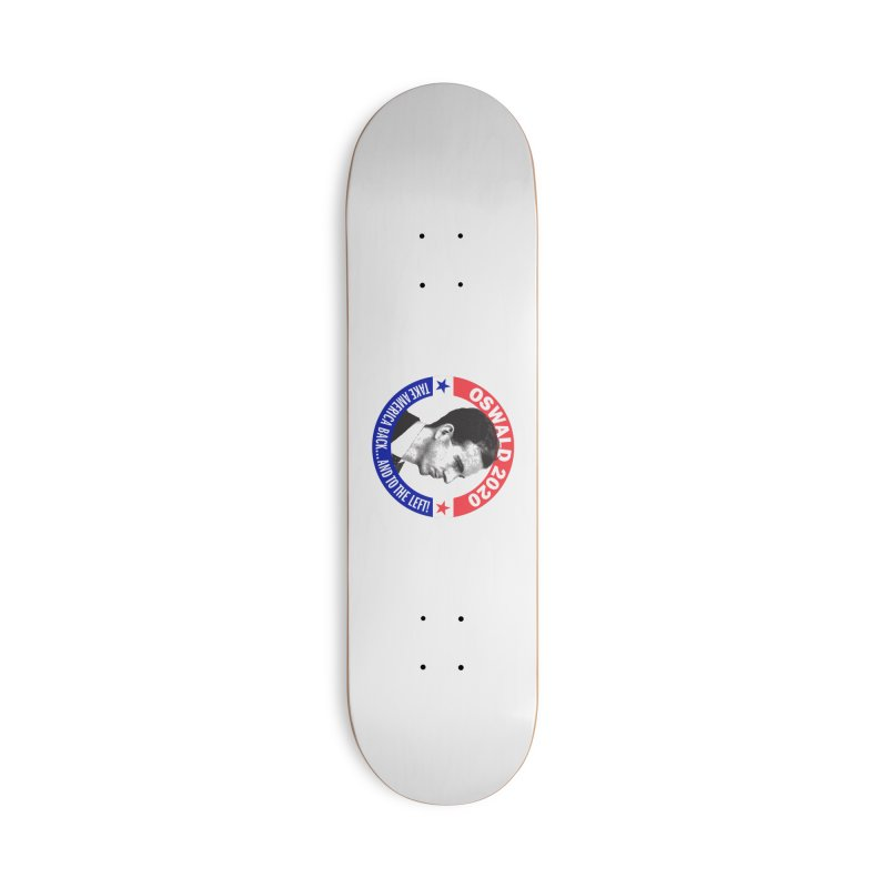 Oswald 2020 Mugs, Buttons, & More Skateboard by Object/Tom Pappalardo