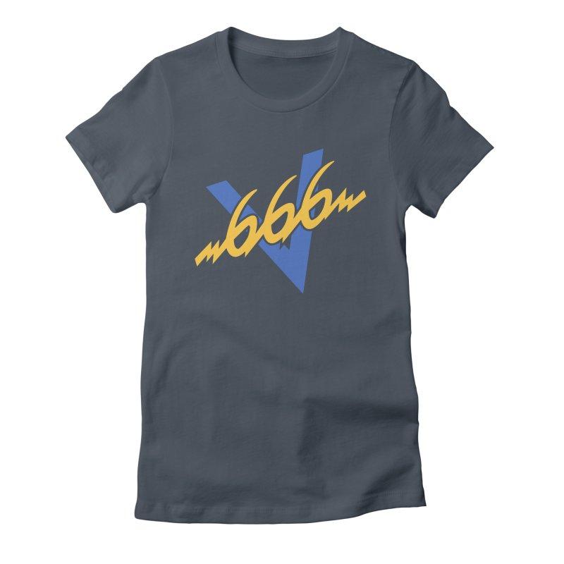 V666 (V66 parody) Women's T-Shirt by Object/Tom Pappalardo