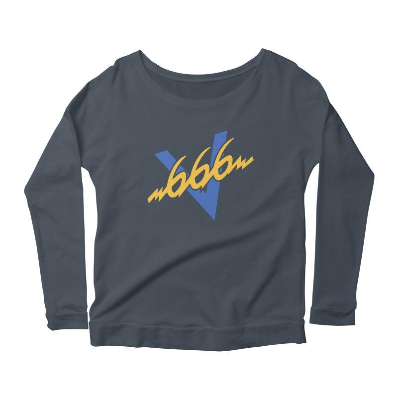 V666 (V66 parody) Women's Longsleeve T-Shirt by Object/Tom Pappalardo