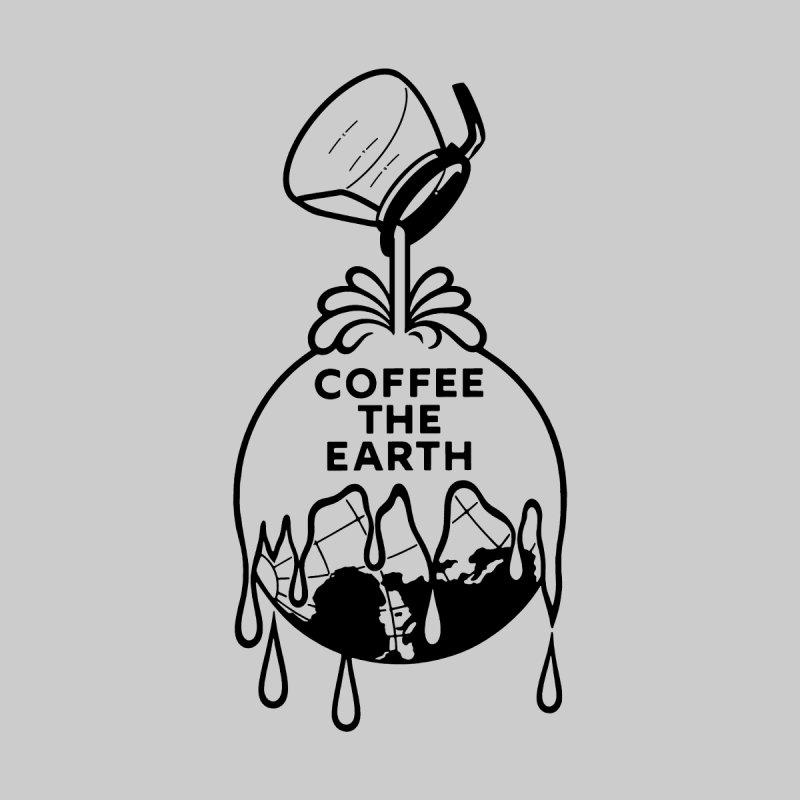 Coffee The Earth (Sherwin-Williams logo parody - B&W) Men's Longsleeve T-Shirt by Object/Tom Pappalardo