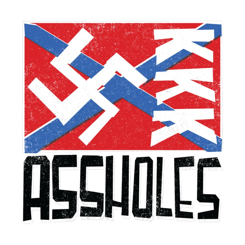 Assholes (black text) Men's T-Shirt by Object/Tom Pappalardo