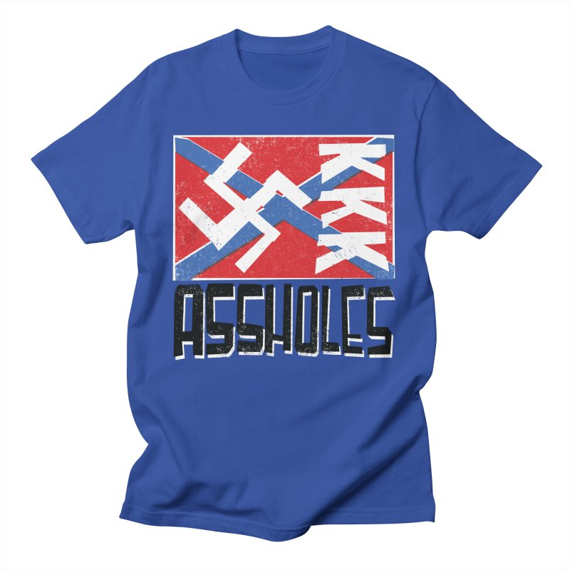 Assholes (black text) Men's T-Shirt by Object/Tom Pappalardo