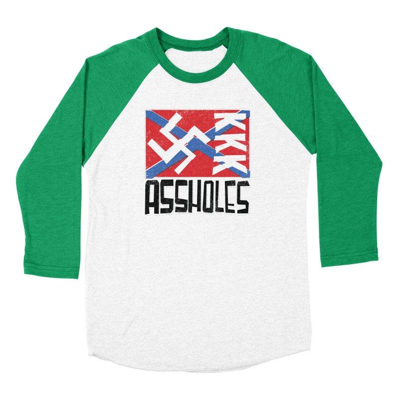Assholes (black text) Men's Longsleeve T-Shirt by Object/Tom Pappalardo